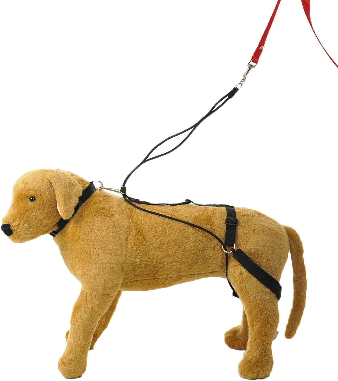 hannadees no Tire hacia atrás pata perro arnés de cableado de ...