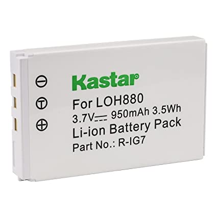 1ce522befe9 Kastar Rechargeable Battery Compatible with Logitech Harmony 880 890 720  785 885 895 One MX-