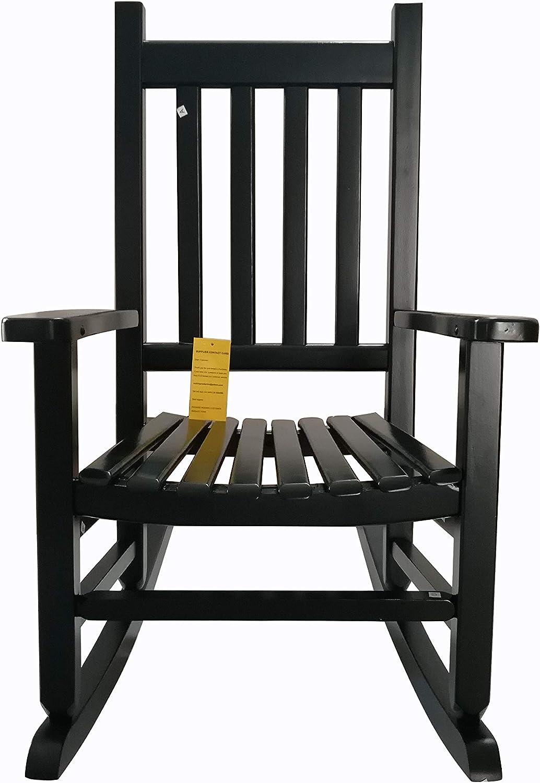 rockingrocker – K086DG Durable Dark Green Child s Wooden Rocking Chair Porch Rocker – Indoor or Outdoor – Suitable for 4-8 Years Old