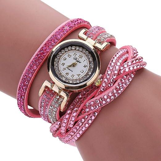 VEHOME Reloj para Mujer de Negocios - Correa de Cuero-Mujeres Relojes Inteligentes relojero Reloj reloje de Pulsera Marcas Deportivos Relojes Pulsera ...