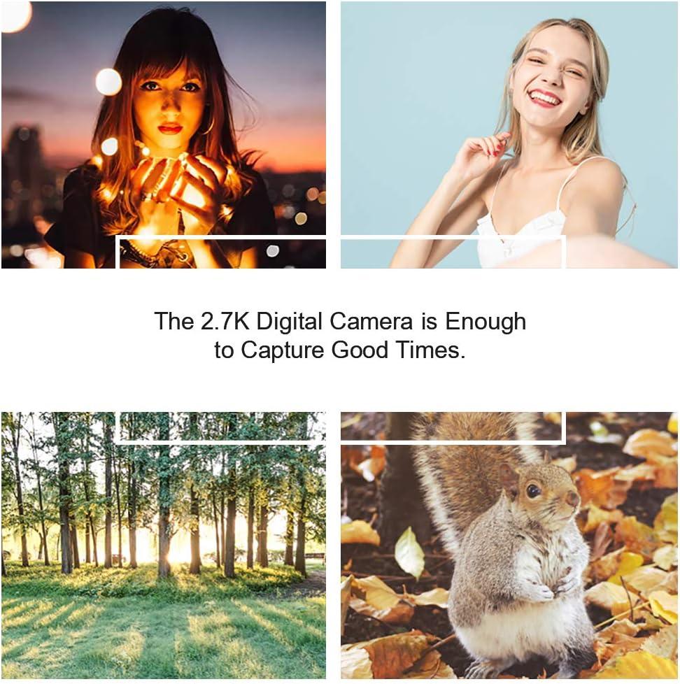 Digital Camera Vlogging Camera for YouTube 2.7K UHD 3.0 Inch