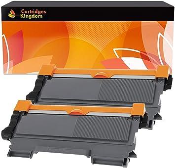 2 Cartuchos de tóner láser compatibles para Brother TN2010 TN2220 ...