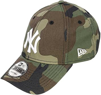 superior quality 2018 sneakers exquisite style New Era MLB League ESS 9Forty Adjustable Cap NY Yankees Camouflage ...
