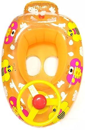 Bebé Niños hinchable mariposa volante Anillo de flotador de natación entrenador asiento coche 2 - 5y, Orange Butterfly Car: Amazon.es: Deportes y aire libre