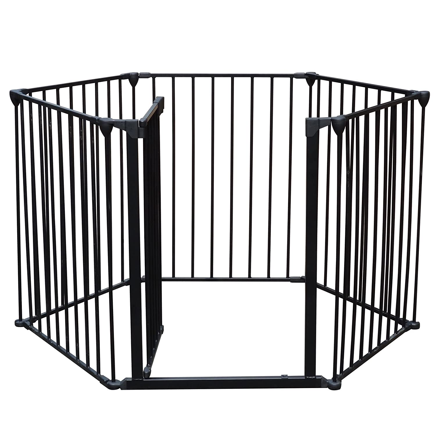 amazon com firstwell baby pet dog cat safety fireplace fence