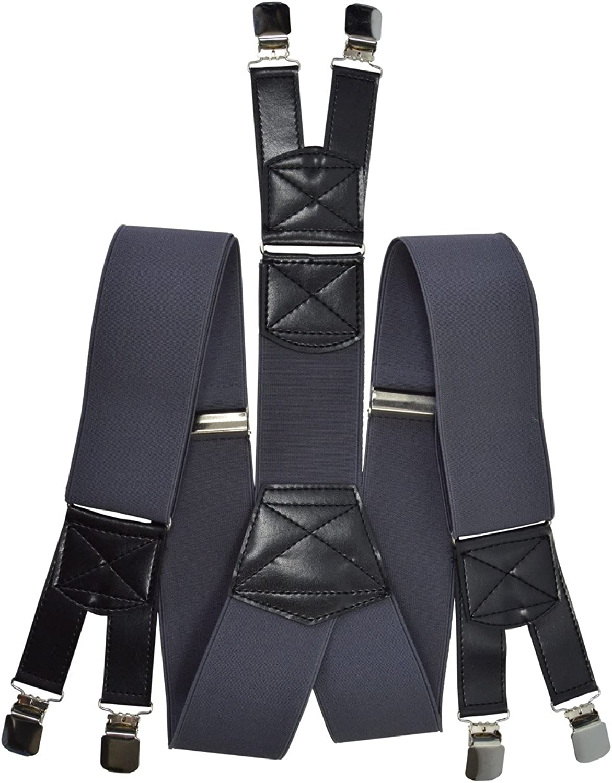Olata Bretelle Extra Largo XXL Extra Forte con 6 Clip X-Forma 5cm larghezza