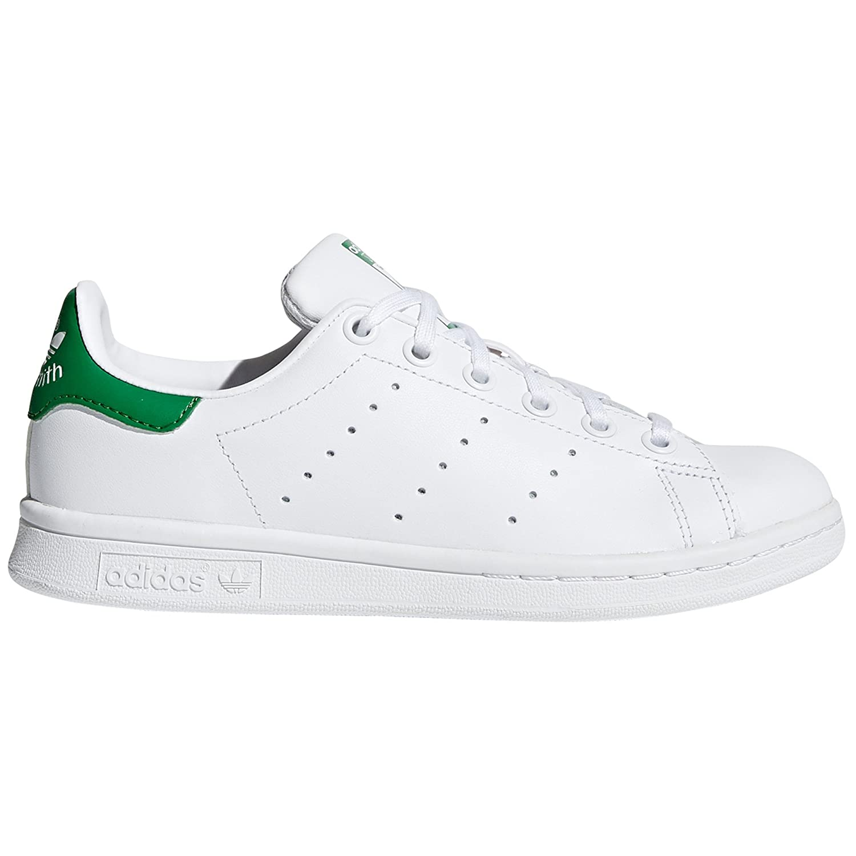 Adidas Stan Smith Blancas Zapatillas Deportivas para Mujer. Tenis, Sneaker, 36.5 EU|White/White/Green