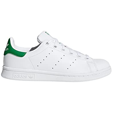 Adidas Stan Smith blan Chaussures Femme. Baskets Mode. Sneaker (36 EU, White