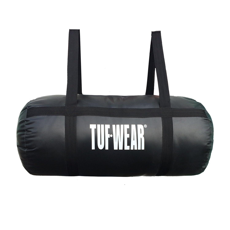 TUF WEAR Boxing Heavy PU Barrel Punchbag Black