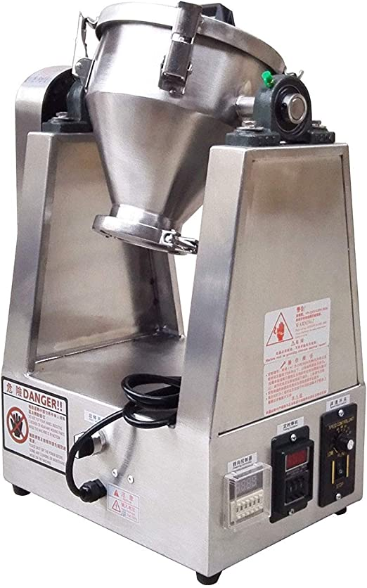 MXBAOHENG Mezclador de Polvo de Laboratorio YG-1KG para Polvo seco ...
