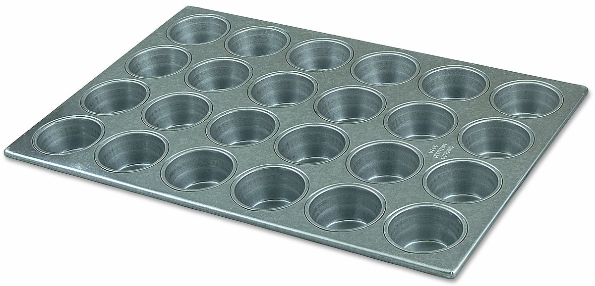 Alegacy 2043 Professional Aluminized Steel 24-Cup Muffin and Cupcake Pan