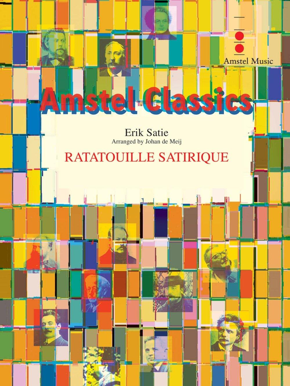 Download Amstel Music Ratatouille Satirique (Score and Parts) Concert Band Level 3 Arranged by Johan de Meij ebook