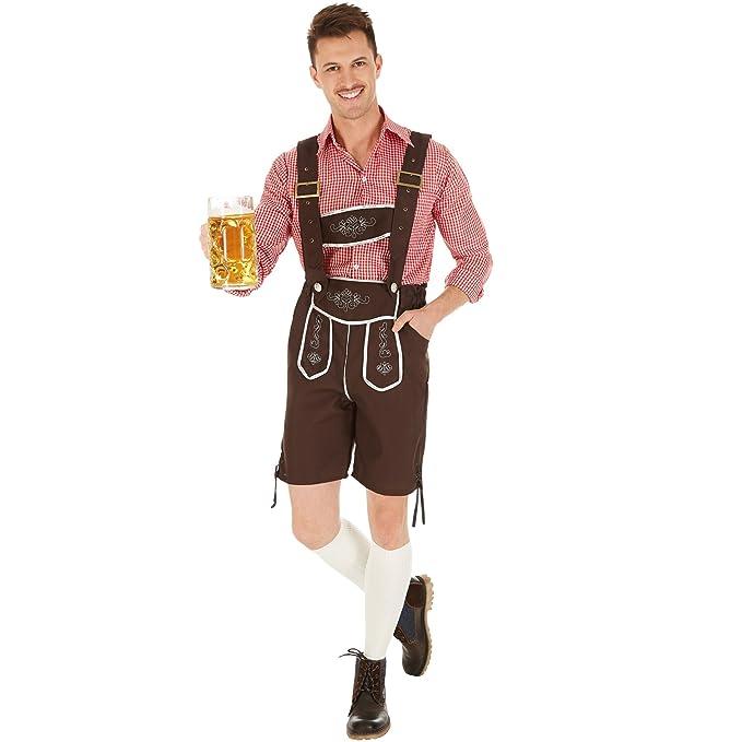 TecTake dressforfun Disfraz de Tradicional Múnich para ...
