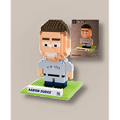New York Yankees Aaron Judge BRXLZ 3D Puzzle 5″ Tall FOCO: Toys & Games