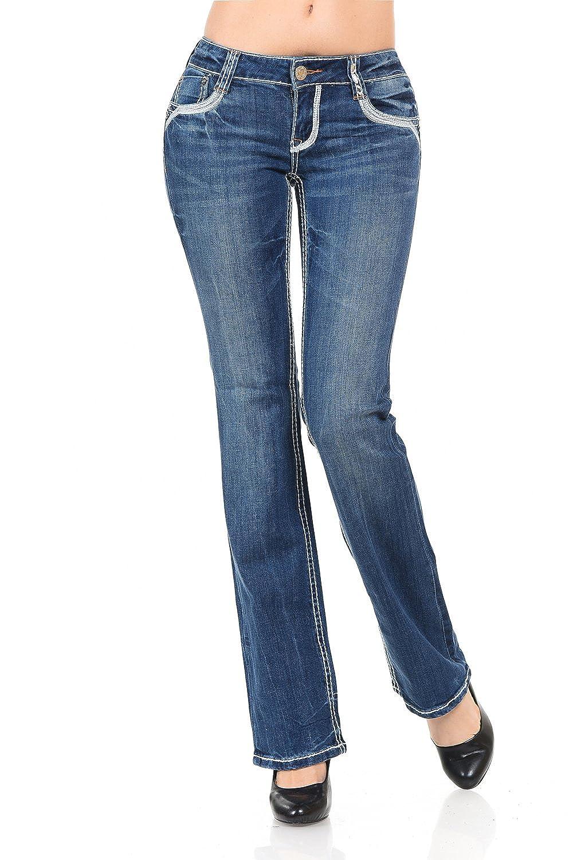 VIRGIN ONLY Women's Slim Boot Cut