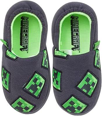 Minecraft - Pantuflas/Zapatillas de Estar por casa Oficiales para niños
