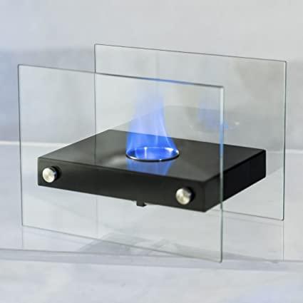 Amazon.com: TANGKULA Tabletop Fireplace Portable Stainless Steel ...