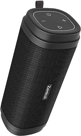 Zamkol Bluetooth Lautsprecher 30w Wasserdichte Bluetooth Lautsprecher Tragbarer Kabelloser Lauter Stereoton Und Verbesserter X Bass Lautsprecher Bluetooth 5 0 Integriertes Mikrofon Ipx6 Audio Hifi