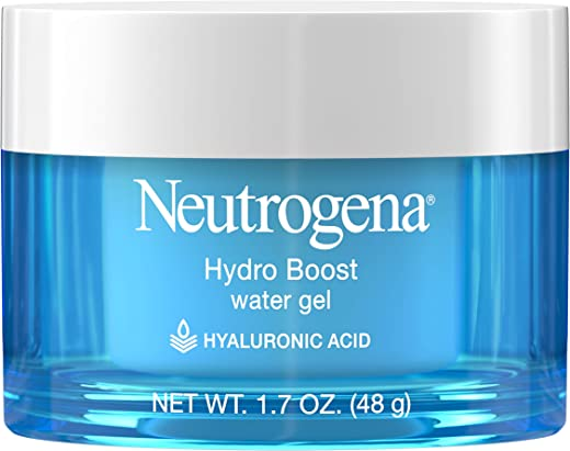 Neutrogena Hydro Boost Hyaluronic Acid Hydrating Water Gel Daily Face Moisturizer for Dry Skin, Oil-Free, Non-Comedogenic & Dye-Free Face Lotion,…