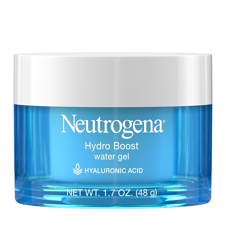 Neutrogena Hydro Boost Hyaluronic Acid Hydrating Water Face Gel Moisturizer for Dry Skin  1 7 fl  oz