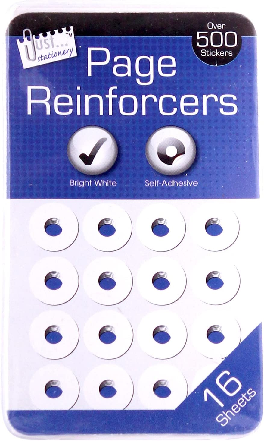Just Stationery Hole Reinforcers Label