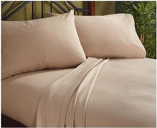 Juego de sábanas UK emperador tamaño marrón 1000TC algodón egipcio ...