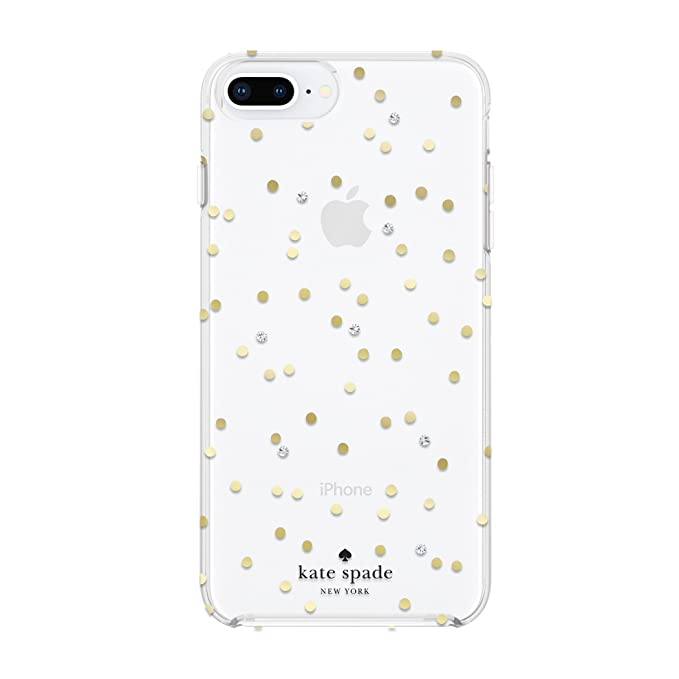newest 4929a 9c227 Amazon.com: kate spade new york Cell Phone Case for iPhone 8 Plus/7 ...