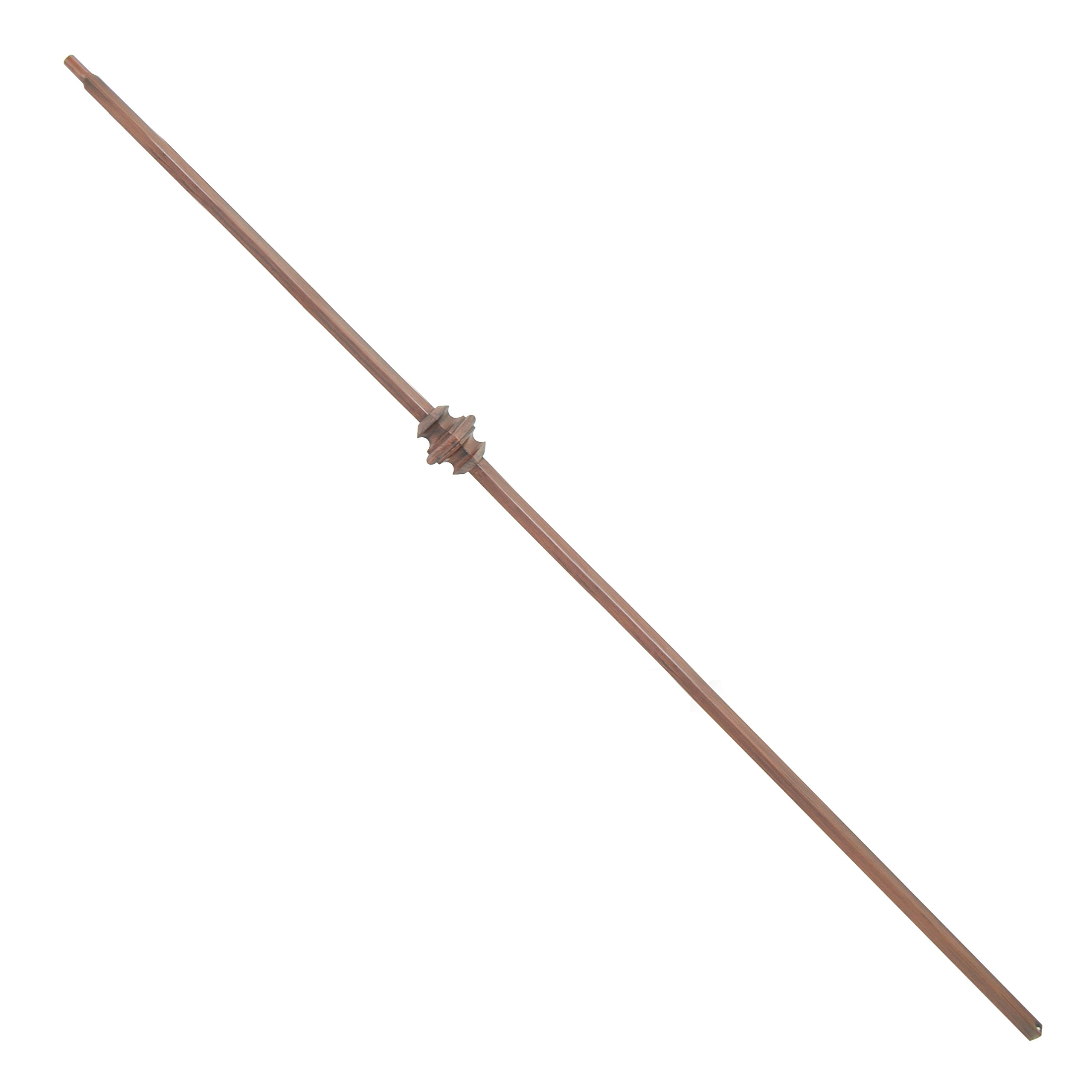 ALEKO BSTR010B Baluster Stair Spindle Supply Single Knuckle Design 1/2 Inch Oil Rubbed Cast Iron Bronze Finished Lot of 10 by ALEKO