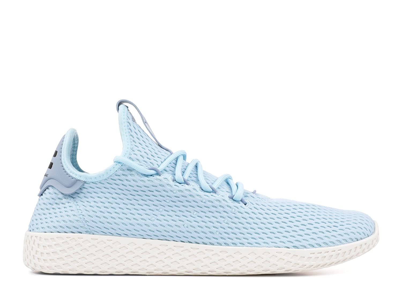 adidas Men's Pw Tennis Hu Sneaker B075LZJLC9 9 D(M) US|Ice Blue / Tactile Blue