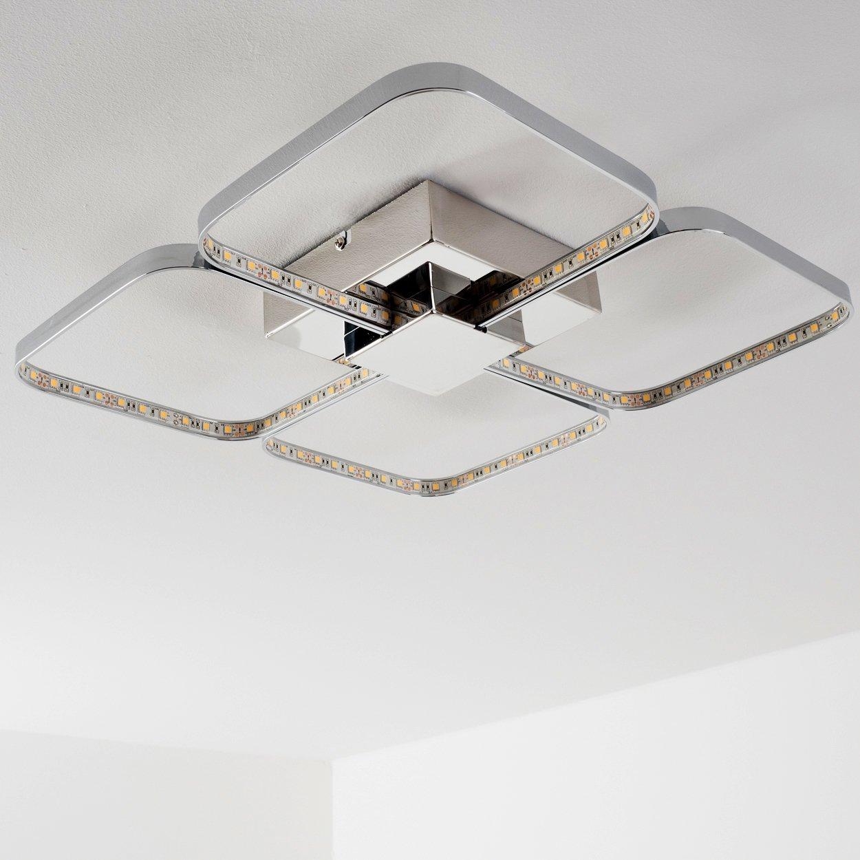 LED Deckenlampe Sepino – extravagantes Design aus 4 drehbaren Licht ...