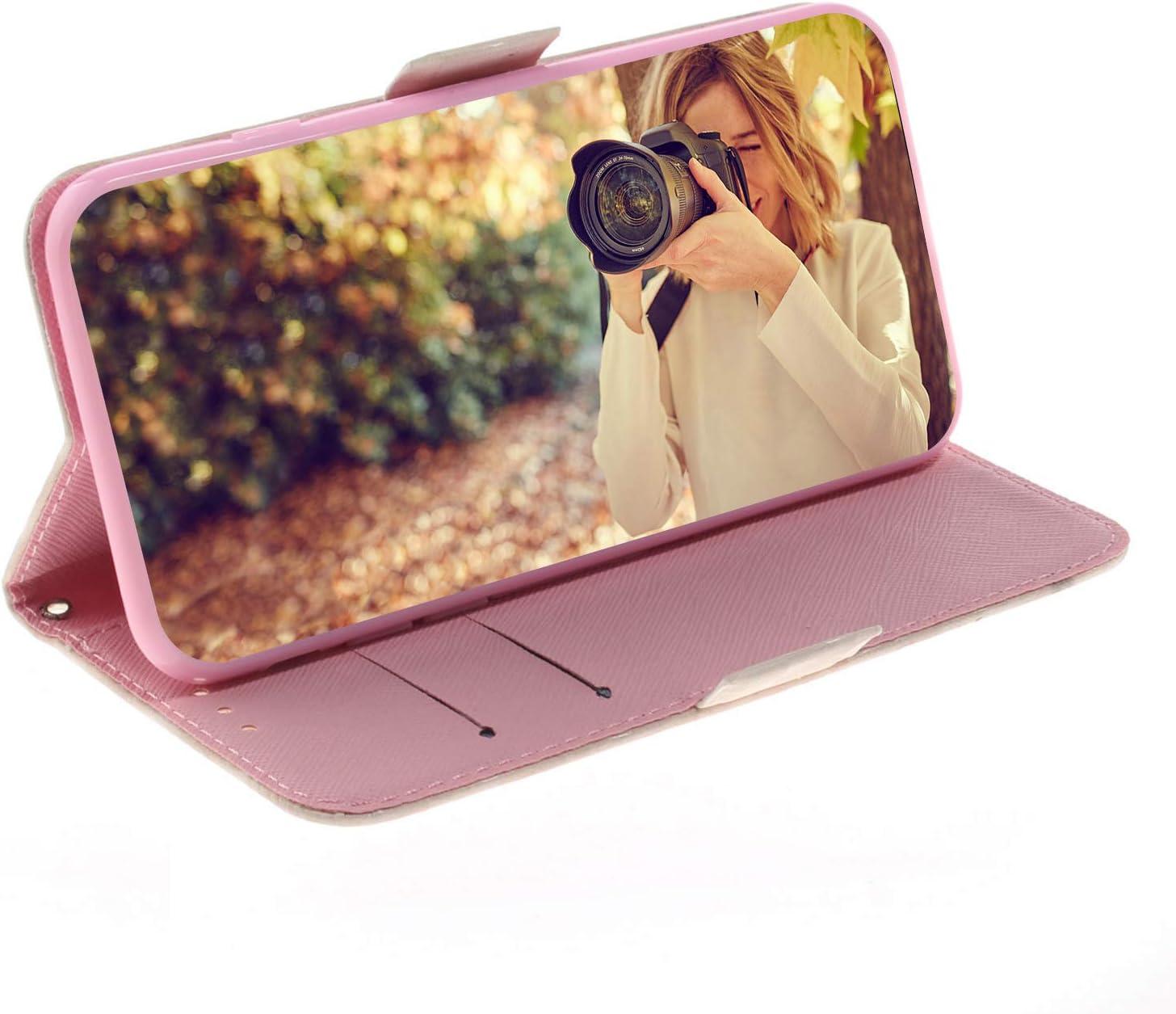 Tosim Coque Galaxy A40 TOTXI160305 T1 Portefeuille /Étui en Cuir Synth/étique Fonction Stand Case Housse Folio /à Rabat Compatible avec Samsung Galaxy A40