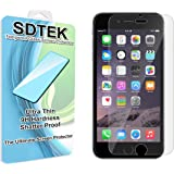 SDTEK iPhone 6 / 6s Protector de Pantalla Cristal Vidrio Templado Glass Screen Protector