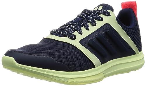 on sale deddf cbe90 adidas Womens Yvori Stellasport Hi-Top Trainers, BlueWhiteRed