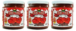 Peru Food Rocoto Red Pepper 7.5 Oz. (3-Pack)