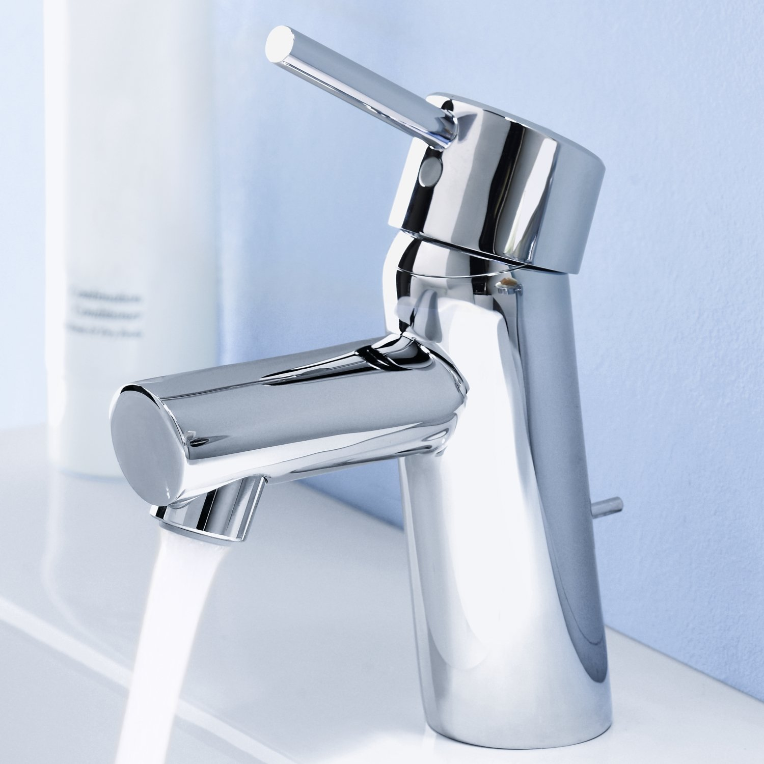 Grohe 34270001 Concetto Single Handle Bathroom Faucet   1.5 GPM   Touch On  Bathroom Sink Faucets   Amazon.com