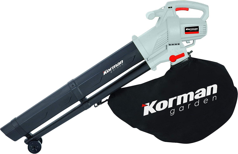 Korman garden - Aspirador triturador soplador eléctrico 3000W ...