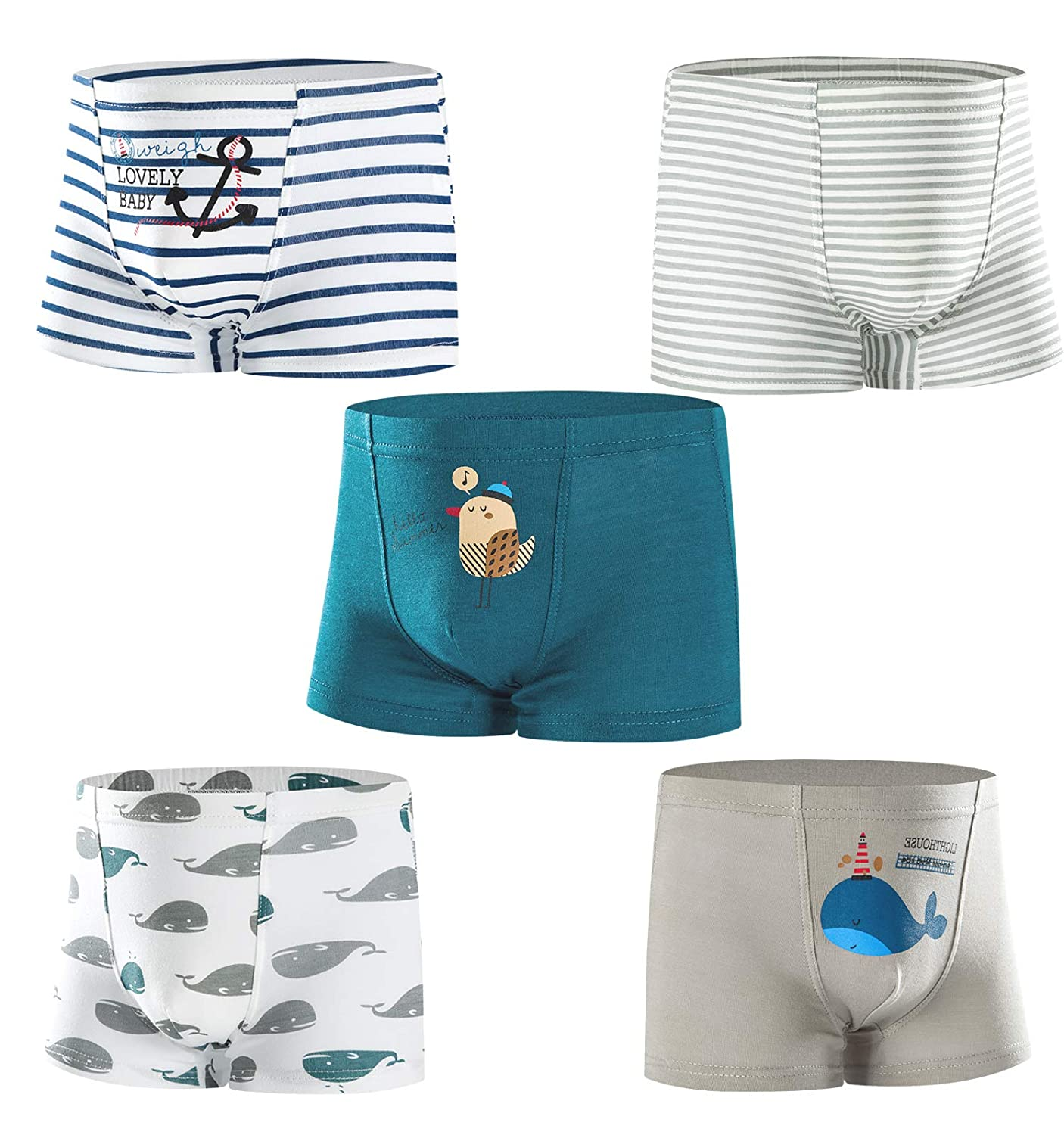 176f3431f109 Material: This boys underwear is made of Luxurious 95% combed cotton (Soft  Skin) ,5% spandex(elasticity)
