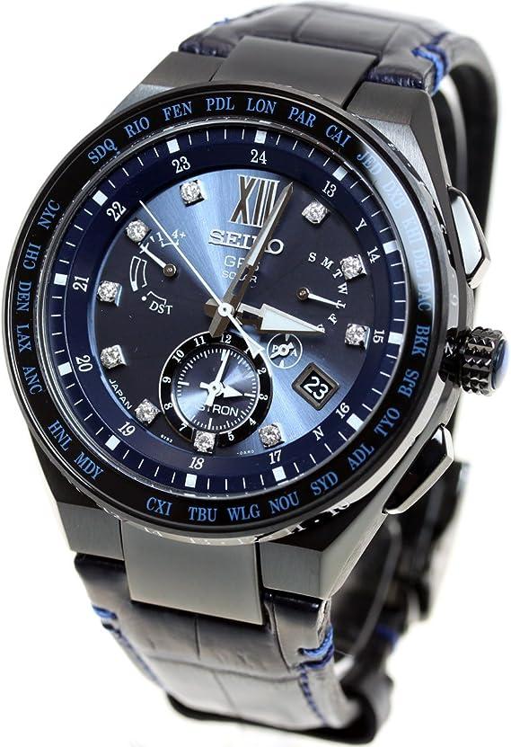 [セイコーウォッチ] 腕時計 アストロン GPSソーラー EXECUTIVE LINE LIMITED 2017ダイヤモンド限定 SBXB157 メンズ ブルー