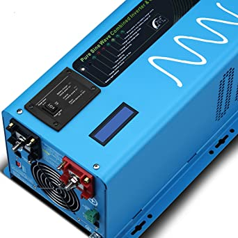 SUNGOLDPOWER 2000 W pico 6000 W inversor de onda sinusoidal ...