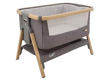 Auxiliar/Baby Cama/cama de viaje Cozee, antracita de Oak, 80,