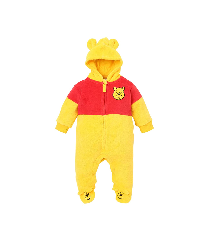 c7f2cb9d5c5e3 Disney Winnie the Pooh Babies Boys Baby overall: Amazon.co.uk: Clothing