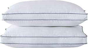 Peace nest Down Alternative Bed Pillows, Hotel Collection Gusseted Pillow for Sleepling, Pack of 2, King