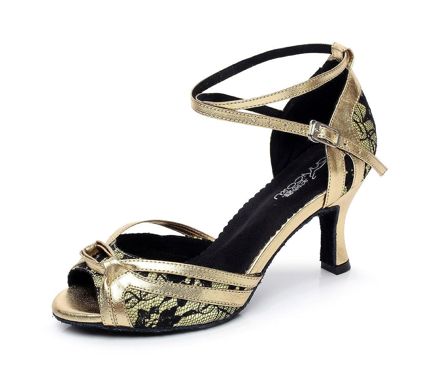 JSHOE Chaussures De Danse Pour JSHOE Sandales 19471 Femme Latin Salsa/Tango/Thé/Samba/Moderne/Jazz Chaussures Sandales Talons Hauts,Gold-heeled6cm-UK7/EU41/Our42 - a5e4e16 - reprogrammed.space