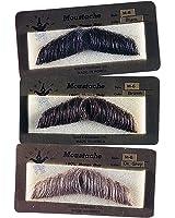 Gentlemans Human Hair Mustaches