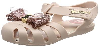 Zaxy Baby Mädchen Glamour Bow Sandalen, Beige (Ivory 90078), 19/20 EU
