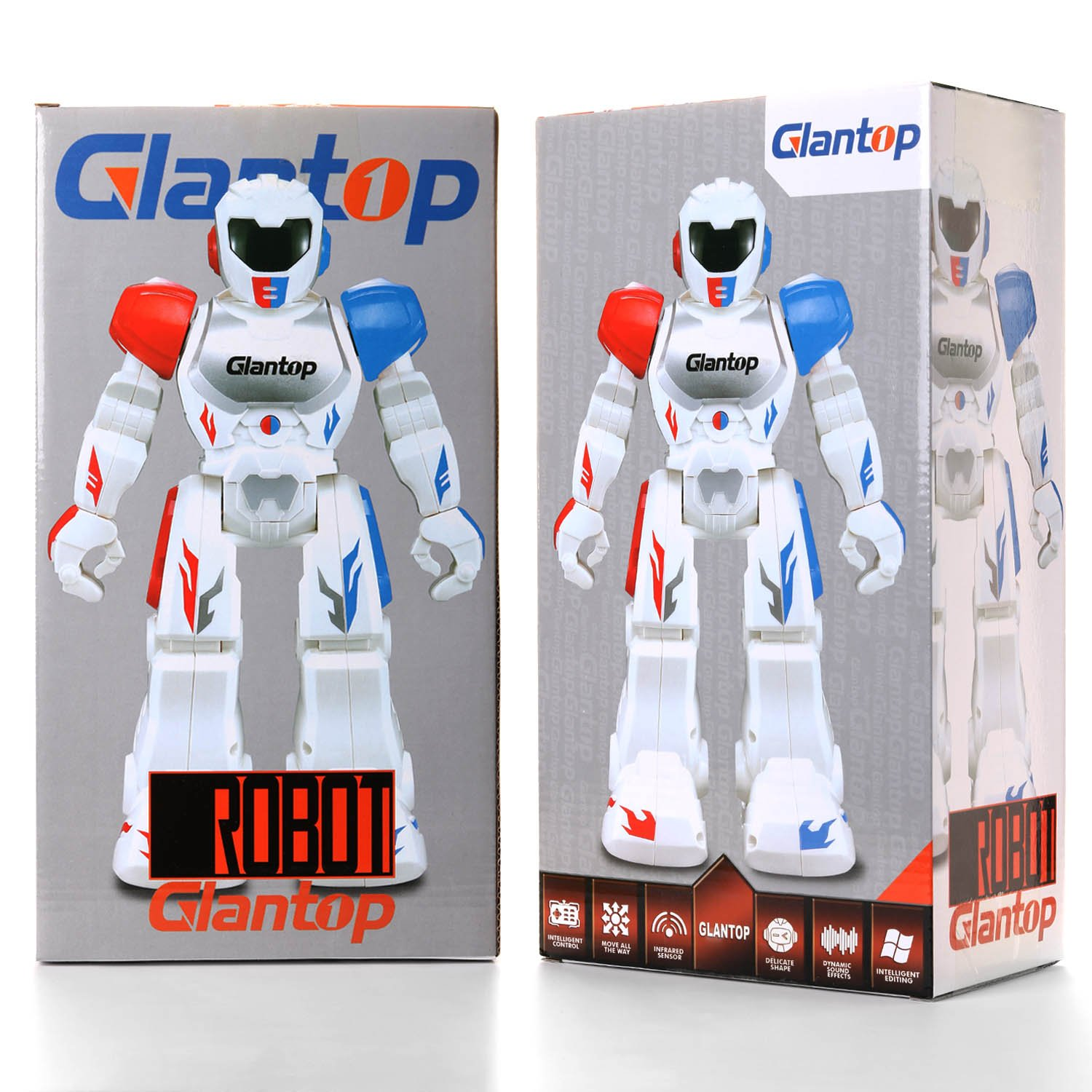 Glantop Remote Control RC Robots Interactive Walking Singing Dancing Smart Programmable Robotics for Kids Boys Girls (Red) by Glantop (Image #9)