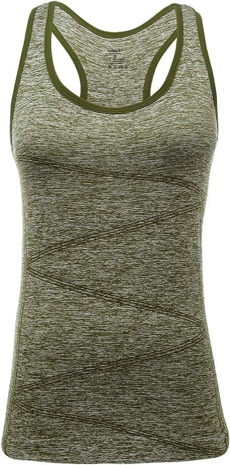 Amazon.com: Camiseta sin mangas para mujer de DISBEST para ...