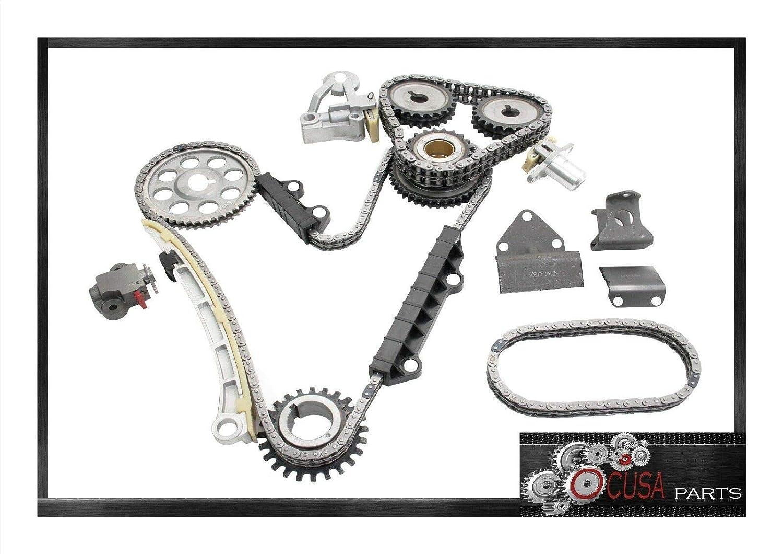 Amazon.com: TIMING CHAIN KIT for SUZUKI GRAND VITARA 99-05 VITARA 2004 XL-7 02-06 2.5L 2.7L: Automotive