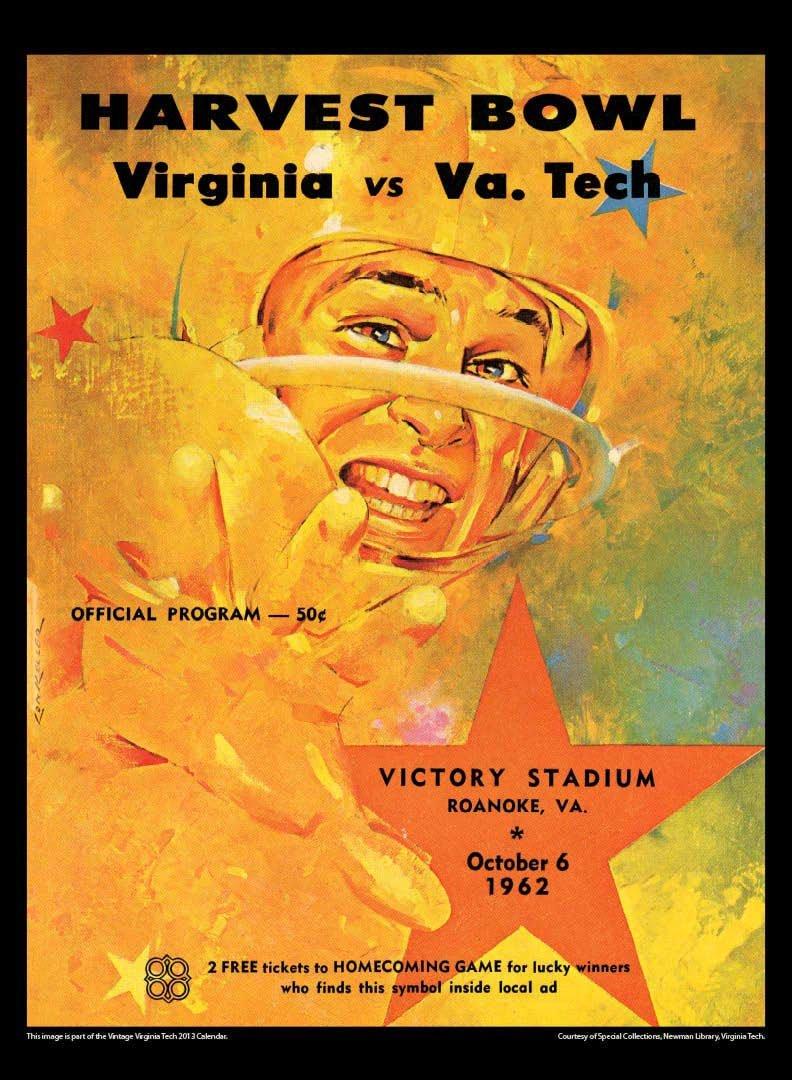 Virginia Tech Hokies 2013 Vintage Football Calendar: Asgard Press ...