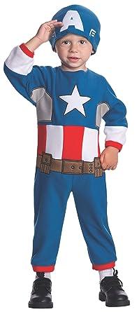 Disfraz de Capitán América Marvel para niño: Amazon.es: Ropa y ...